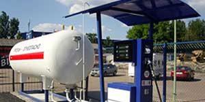 Автомобильные газозаправочные станции